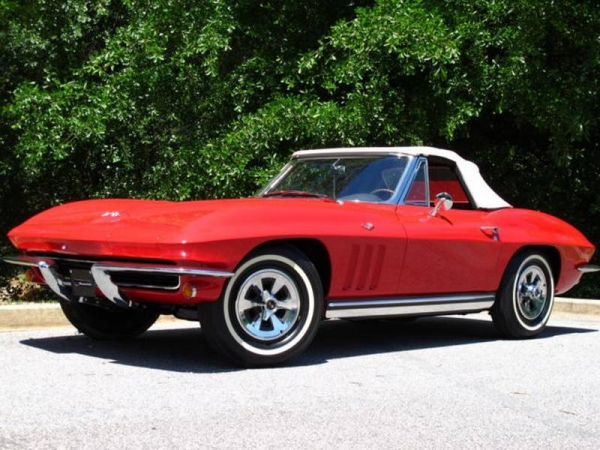 1967 350hp Red Convertible