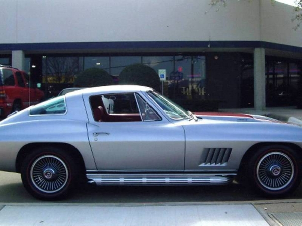 1966 Silver Pearl 390hp Coupe A/C