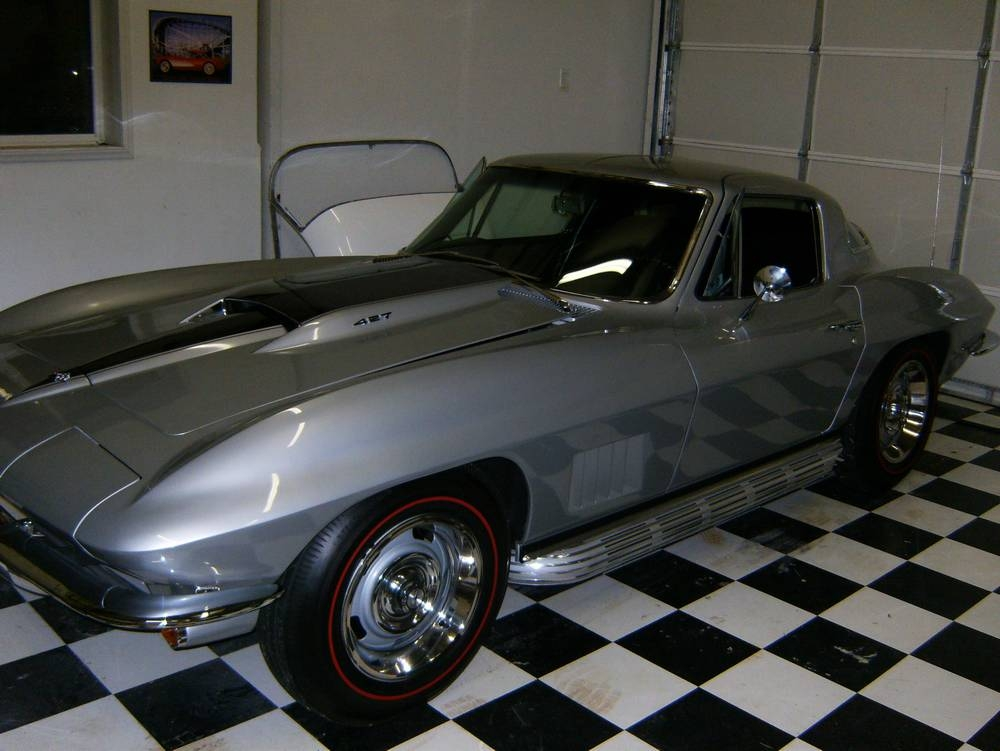 1967 Silver Pearl on Black
